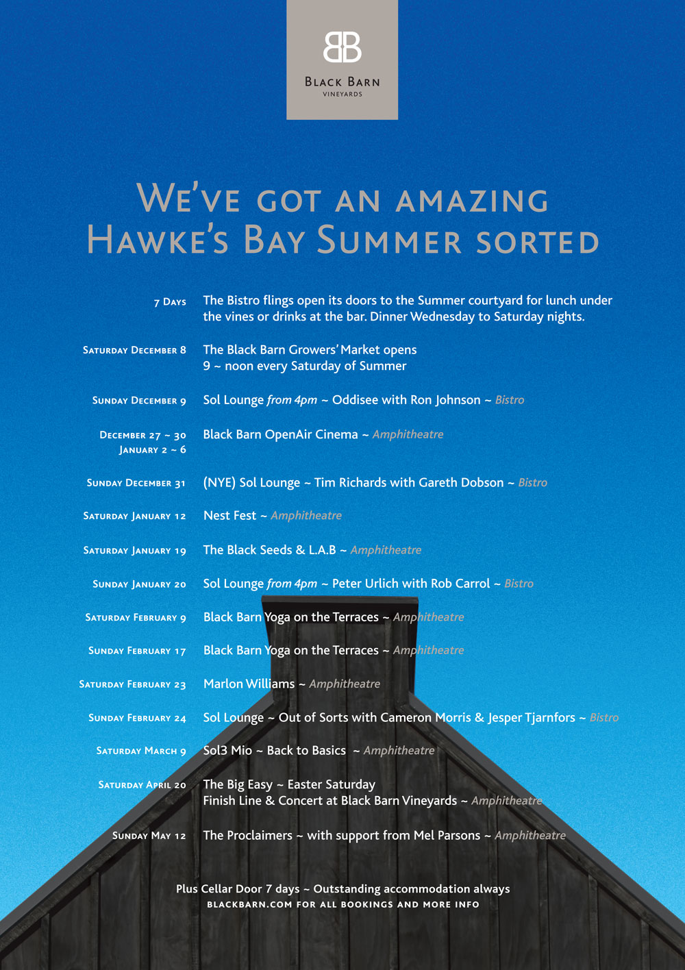 We've got an Amazing Summer Sorted.