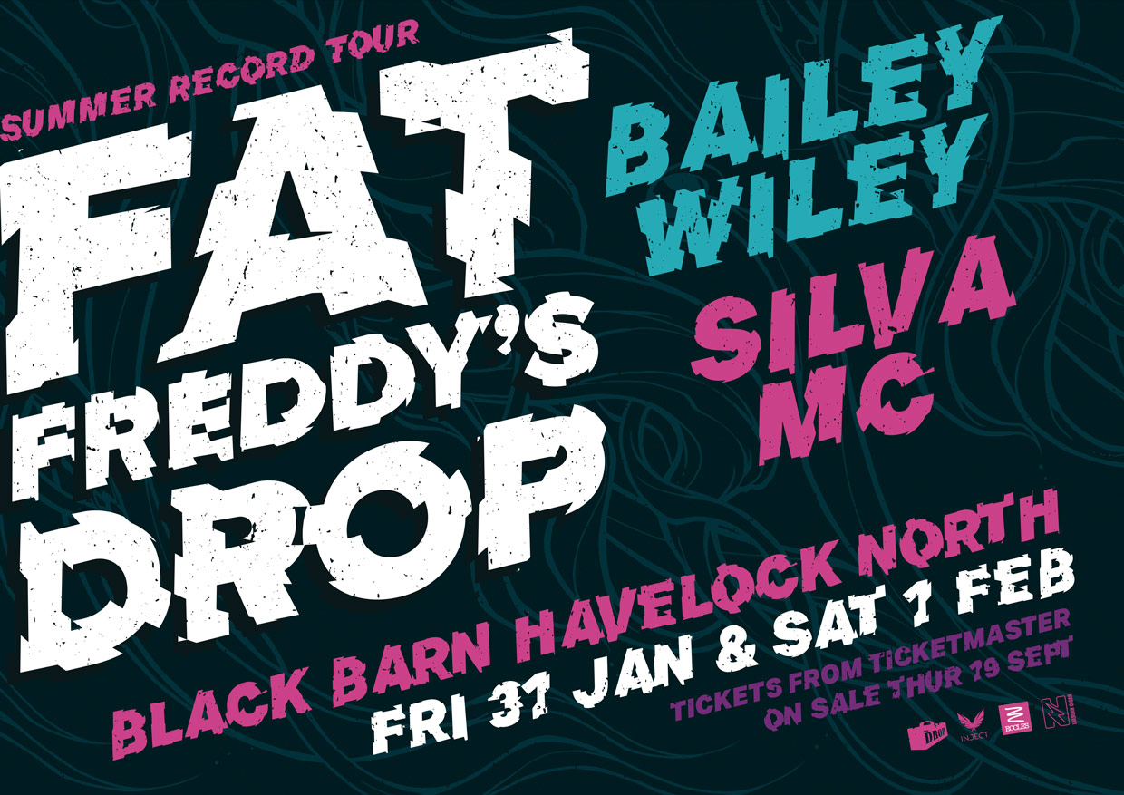 Fat Freddys Drop at Black Barn