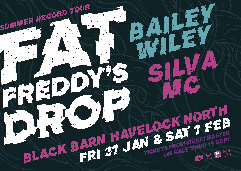 Fat Freddys Drop at Black Barn