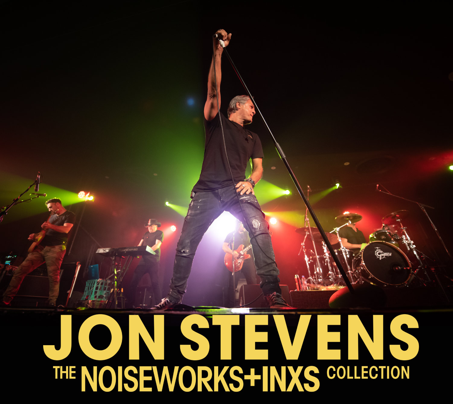 Jon Stevens live at Black Barn Amphitheatre