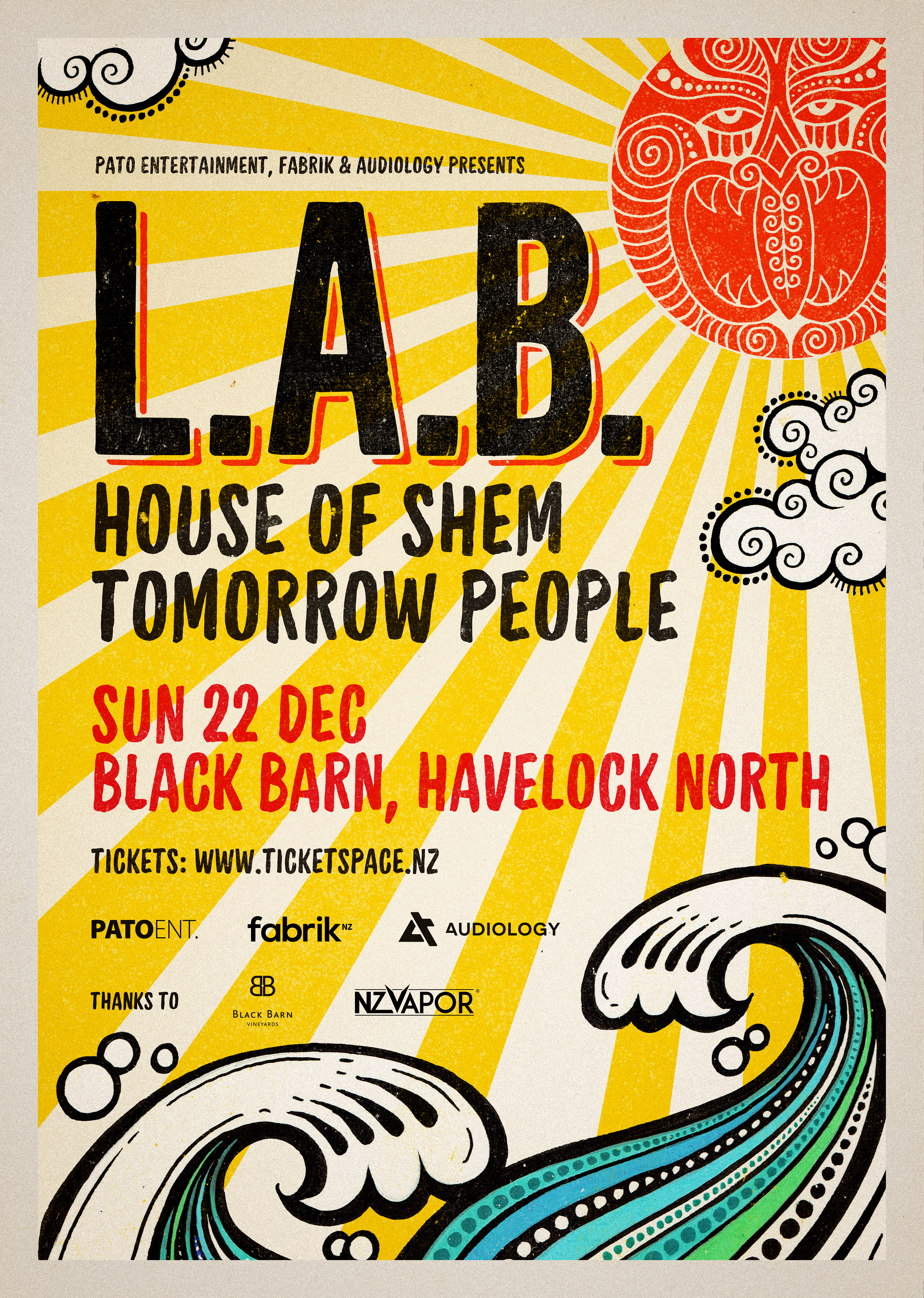 L.A.B | Black Barn Amphitheatre