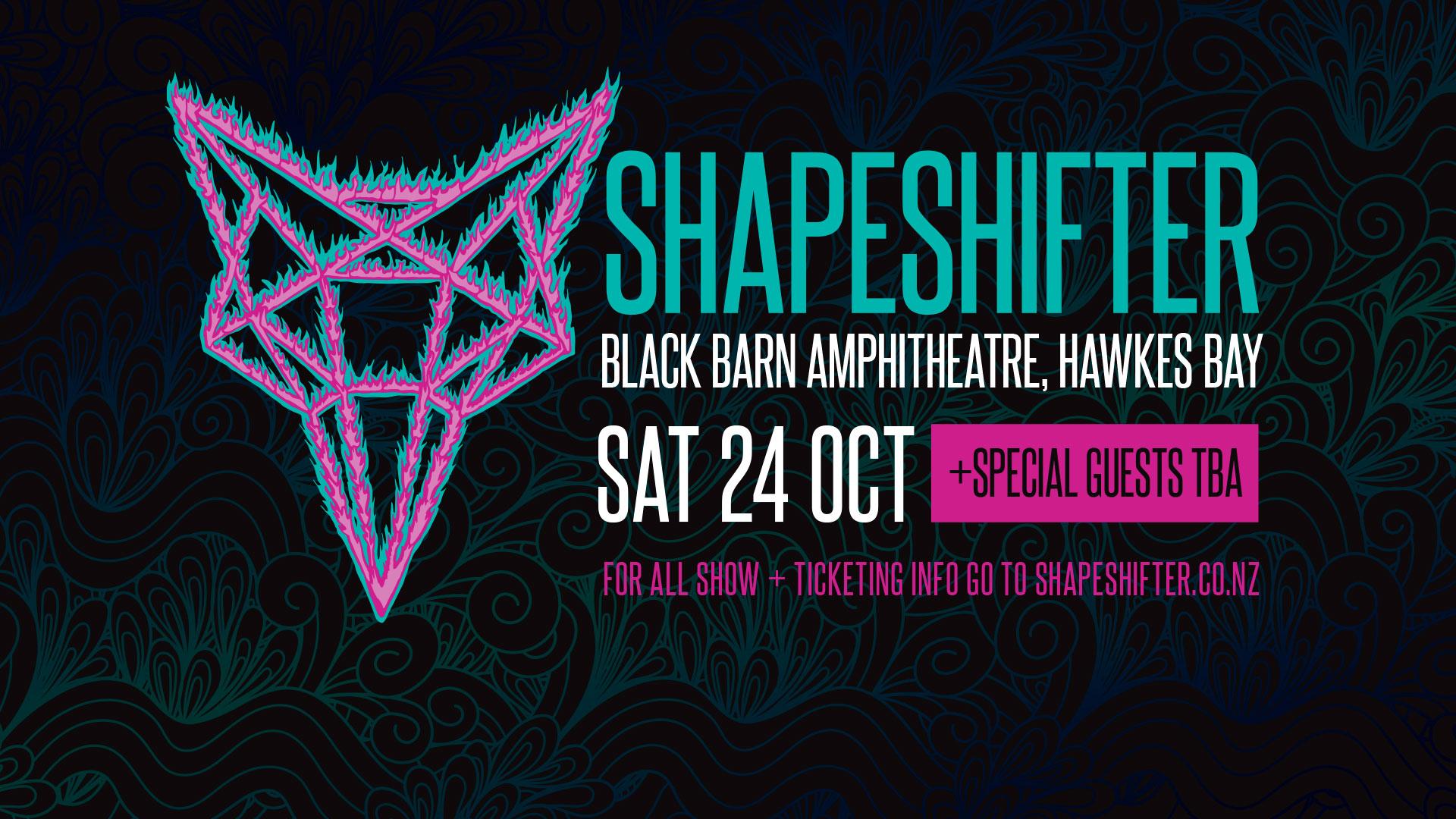 Shapeshifter at Black Barn