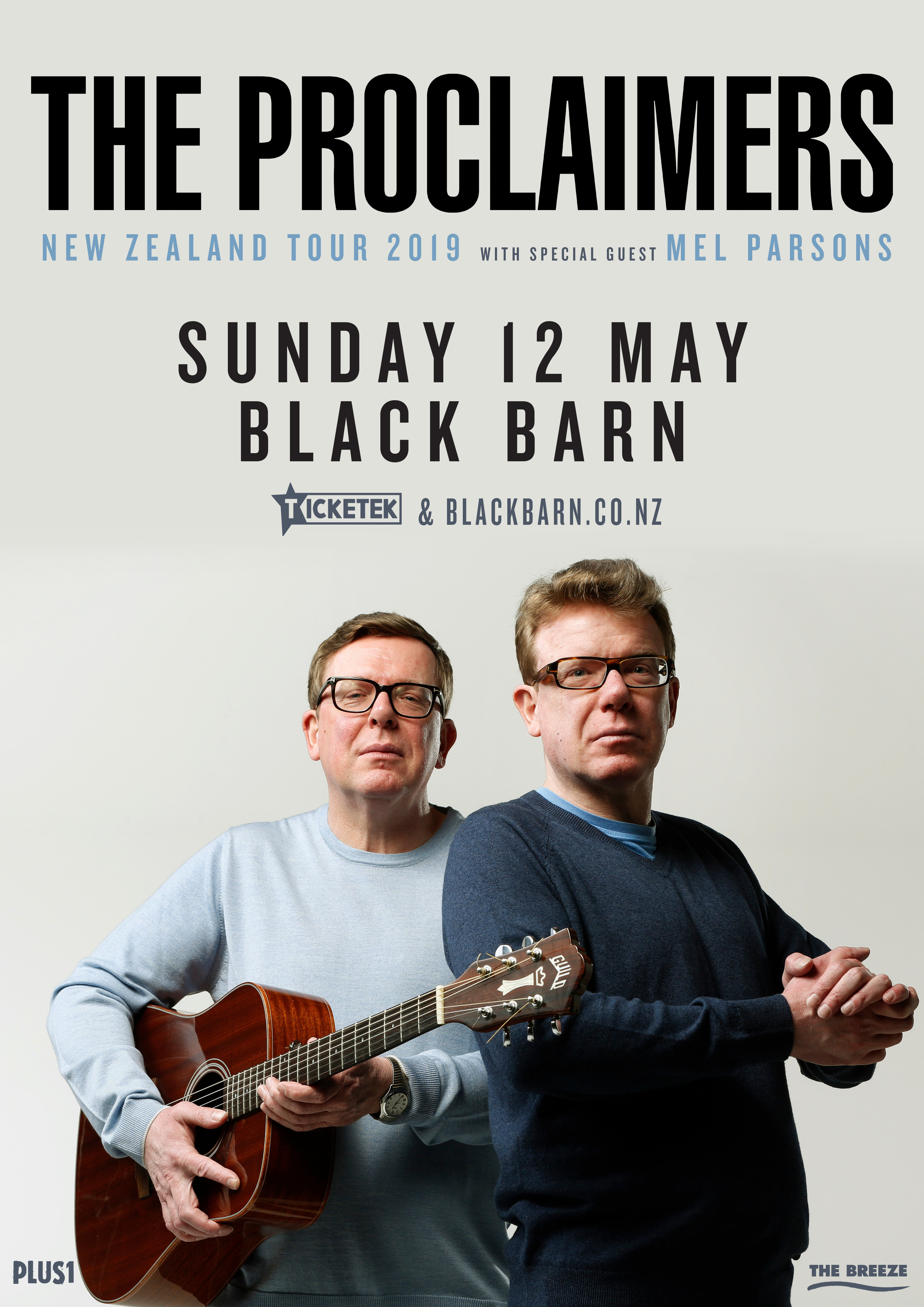 The Proclaimers at Black Barn Amphitheatre | 12 May 2019